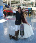 AX2011 - Link and Zelda by Giolon