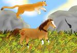 Bella Sara: Arapaho - The Race by Morgenfluegel