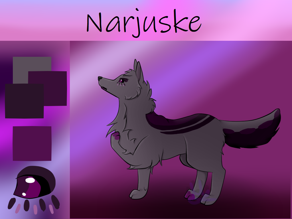 Character Sheet: Narjuske by Morgenfluegel