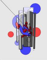 Spiderman by SeanGregoryMiller