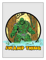 Swamp Thing by SeanGregoryMiller