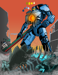 Gipsy Danger Commission WIP