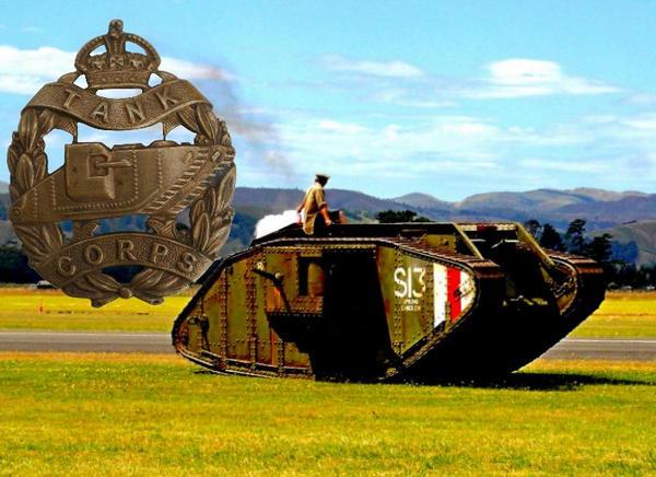 Ww1 British Tanker Badge by 2dresq