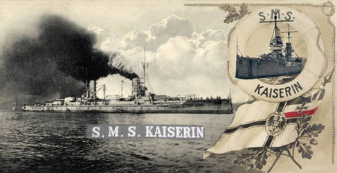 SMS Kaiserin (JustinG photomerge)