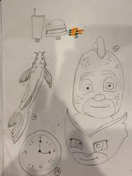 Beginner Doodle Challenge, page 3