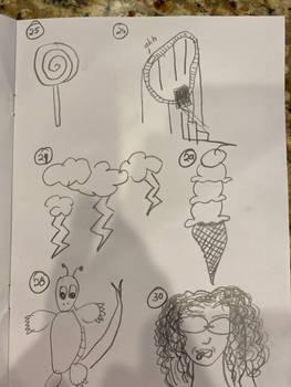 Beginner Doodle Challenge, page 5 of 5