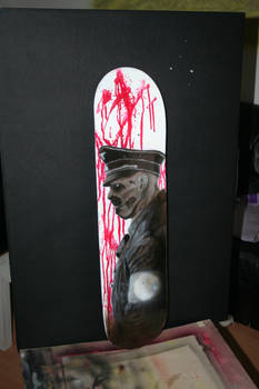 Nazi Zombie Skateboard