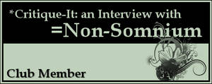 Member: Non-Somnium by Critique-It