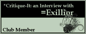 Member: Exillior by Critique-It