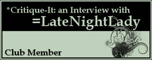 Member: LateNightLady by Critique-It