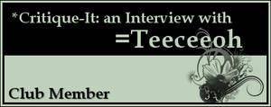 Member: Teeceeoh by Critique-It