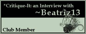Member: Beatriz13 by Critique-It