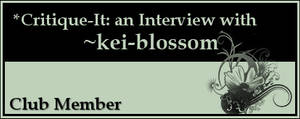 Member: kei-blossom by Critique-It