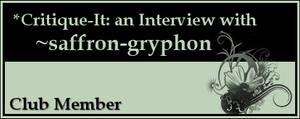 Member: saffron-gryphon by Critique-It