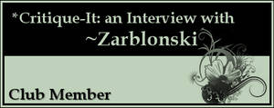 Member: Zarblonski by Critique-It