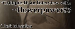 Member: flowerpower83 by Critique-It