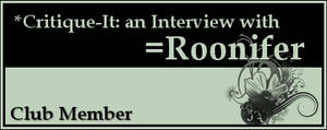 Member: Roonifer by Critique-It