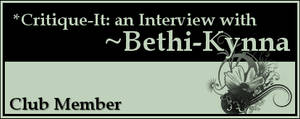 Member: Bethi-Kynna by Critique-It