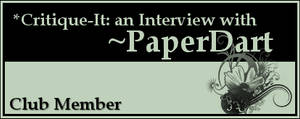 Member: PaperDart by Critique-It