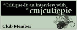 Member: cmjcutiepie by Critique-It