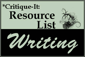 Resources: Writing by Critique-It