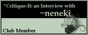 Member: neneki by Critique-It