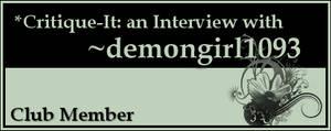 Member: demongirl1093 by Critique-It