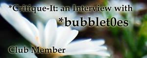 Member: bubblet0es by Critique-It