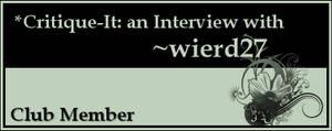 Member: wierd27 by Critique-It