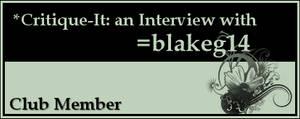 Member: blakeg14 by Critique-It