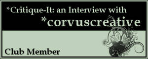 Member: corvuscreative by Critique-It