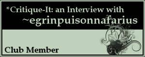 Member: egrinpuisonnafarius by Critique-It