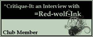 Member: Red-wolf-Ink by Critique-It