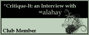 Member: alahay by Critique-It