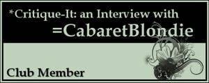 Member: CabaretBlondie by Critique-It