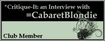 Member: CabaretBlondie by Critique-It