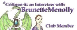 Member: BrunetteMenolly by Critique-It