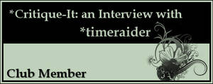 Member: timeraider by Critique-It