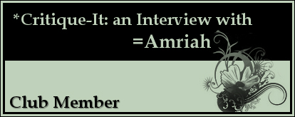 Member: Amriah by Critique-It