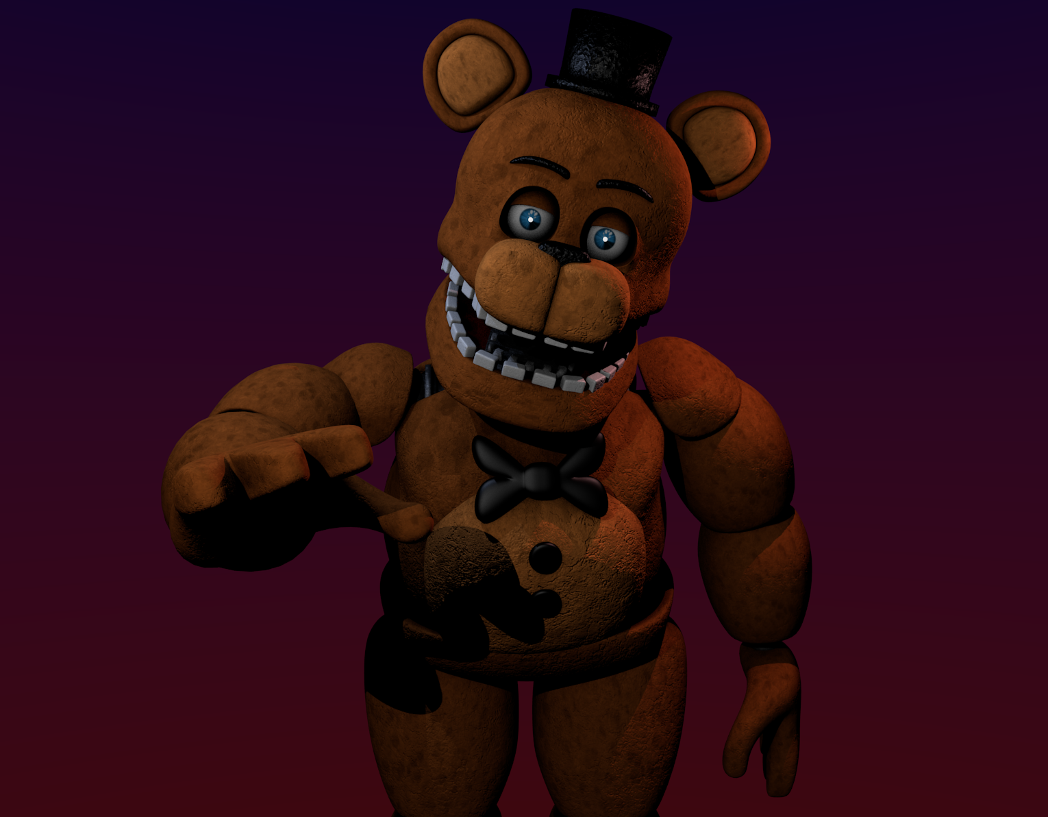 Unwithered Freddy By Odrios Deviantart – HD Wallpapers