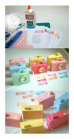 Box Baby Camera - papercraft by perfectnoseclub