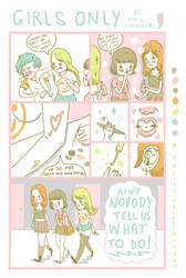 GIRLS ONLY comic