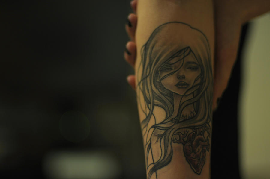 Audrey Kawasaki Tattoo by Skellevision on DeviantArt