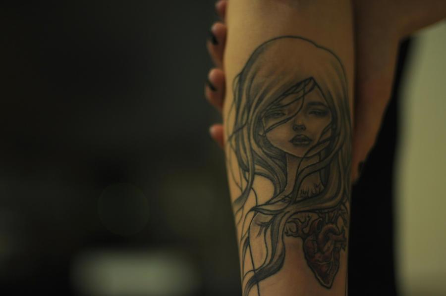 Audrey Kawasaki Tattoo by Skellevision on DeviantArt
