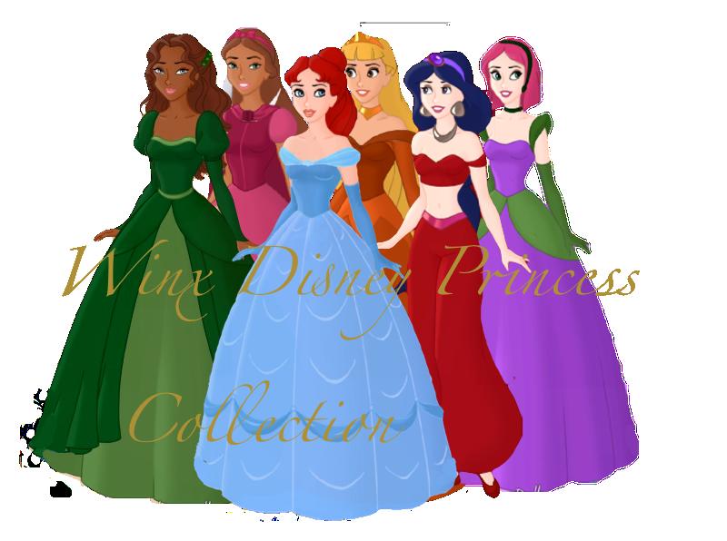 Winx disney princesses group pic by winxgirl34 on deviantart - Princesse winx ...