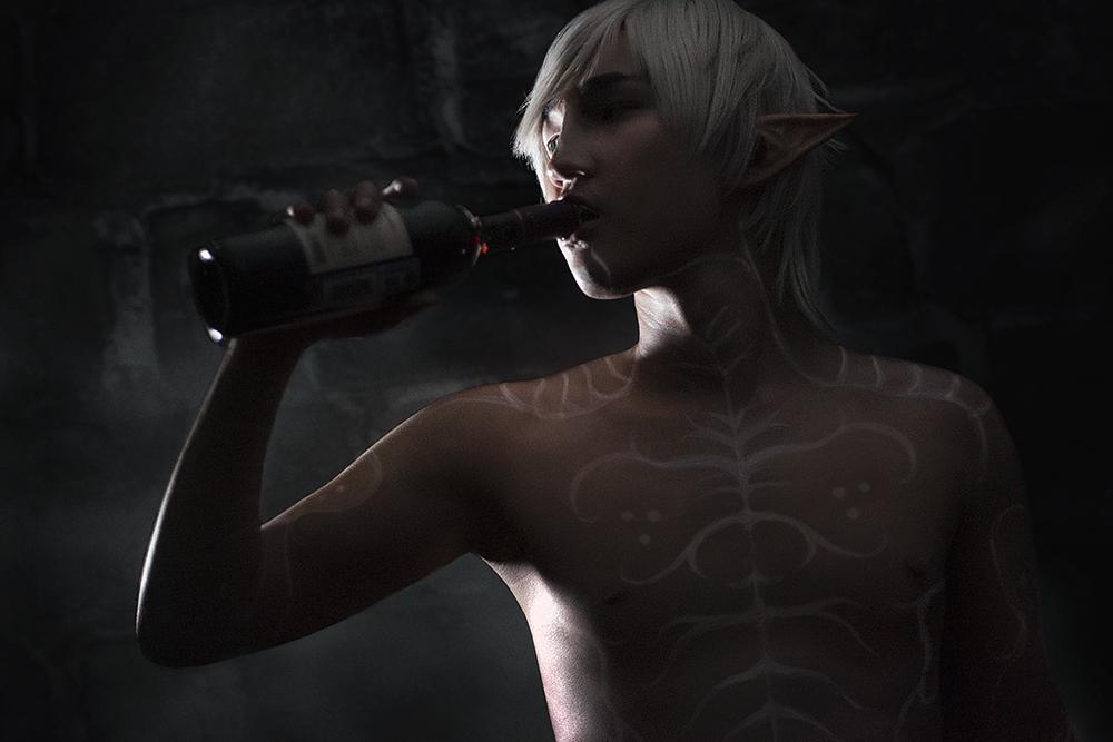 Last bottle of... whatever this is by KenkenTiger