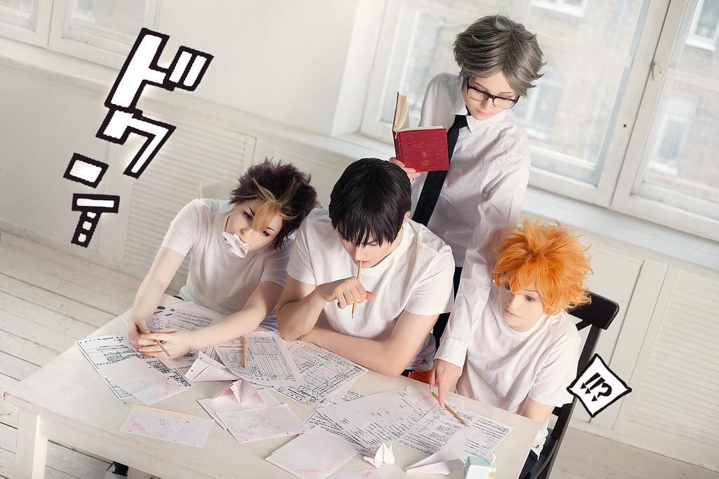 HQ! - Exams... no. by KenkenTiger