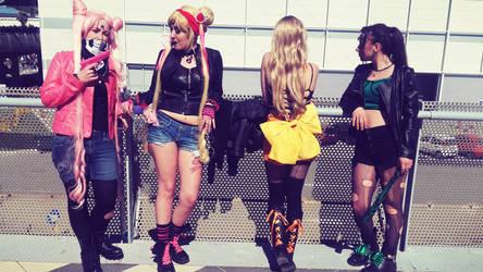 Sailor Moon Punk Version by LunaCavezza