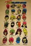 The League of Cliche Evil Super-villains
