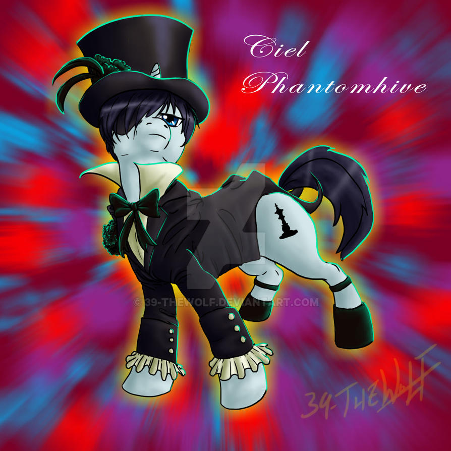 Pony Ciel Phantomhive by 39-TheWolf